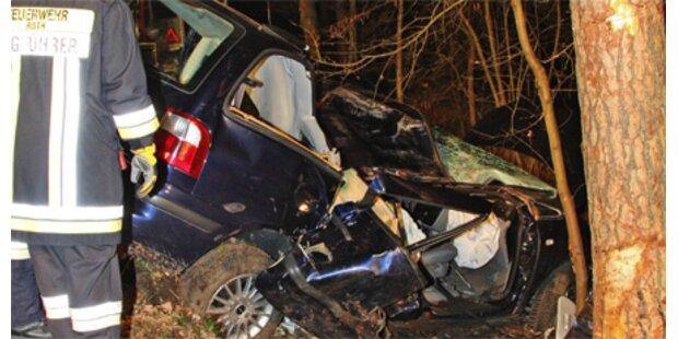 40-Jährige überlebt spektakulären Unfall