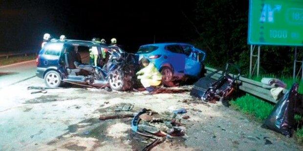 Österreicher stirbt bei Geisterfahrer-Crash