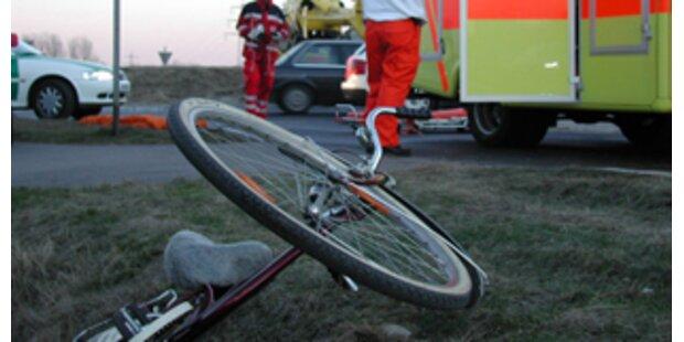 Schwerer Fahrrad-Unfall im Nordburgenland