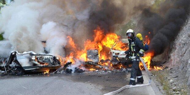 Tiroler bei Unfall verbrannt