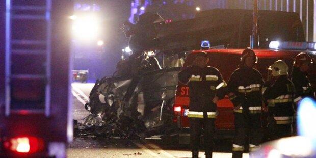 8 Tote bei Horror-Crash in Polen