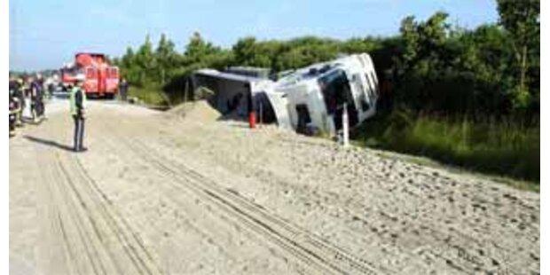 28 Tonnen Sand sorgten für Sperre der B14