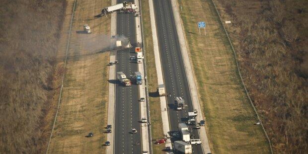 Zehn Tote bei Mega-Crash in USA