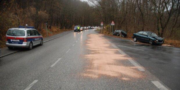 Autounfall fordert zwei Schwerverletzte