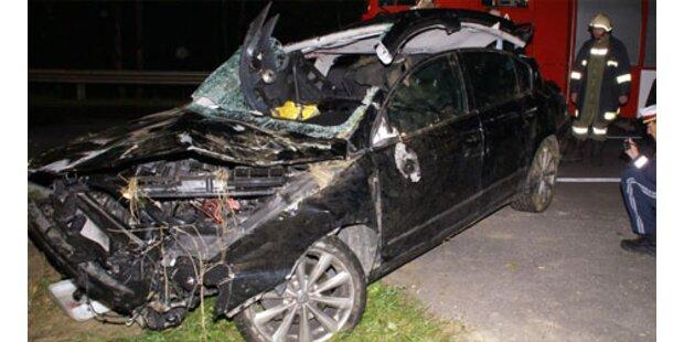 Bauer (44) bei Unfall schwer verletzt