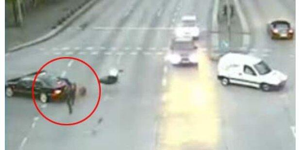 Dt. Polizei schockt mit Horror-Video