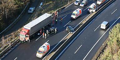 Unfall A2 Wechsel