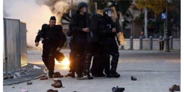 Polizei löste rechtsradikale Demo in Ungarn auf