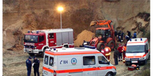 Drei Kinder in illegaler Sandgrube getötet
