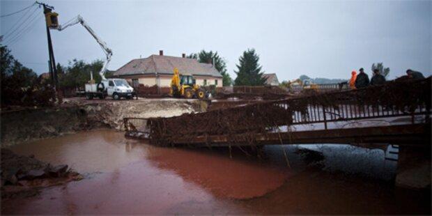 Westungarn droht neue Überschwemmung