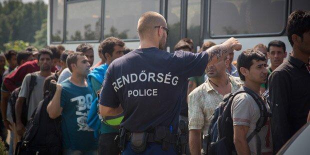 Flüchtlinge werden in Ungarn systematisch misshandelt