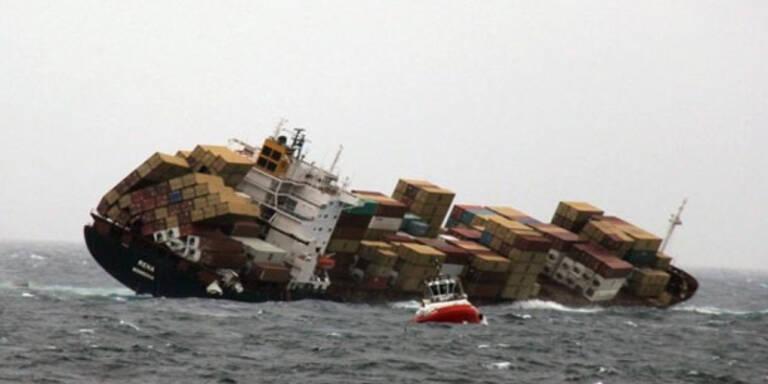 Unglücksschiff vor Neuseeland zu instabil