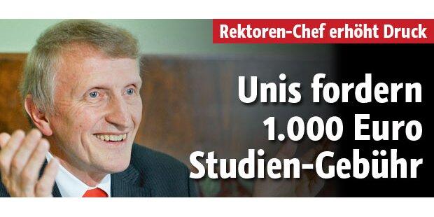 Bald Uni-Gebühr von 1.000 Euro pro Jahr