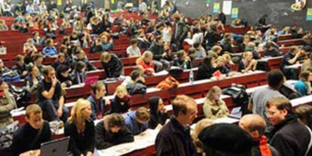 Wieder Studentenplus an Uni Wien erwartet