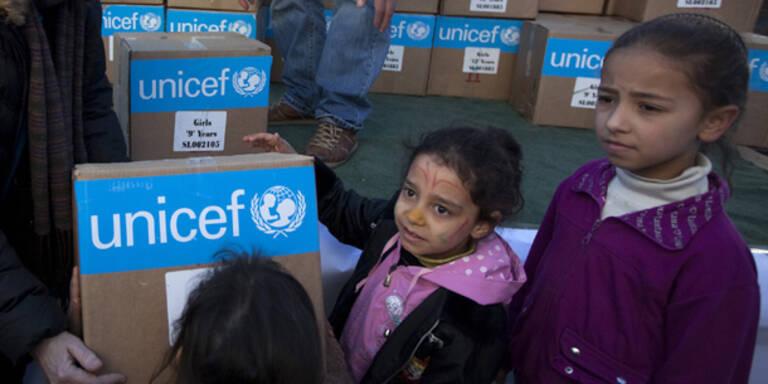 Syrien: UNICEF beklagt Zukunft der Kinder
