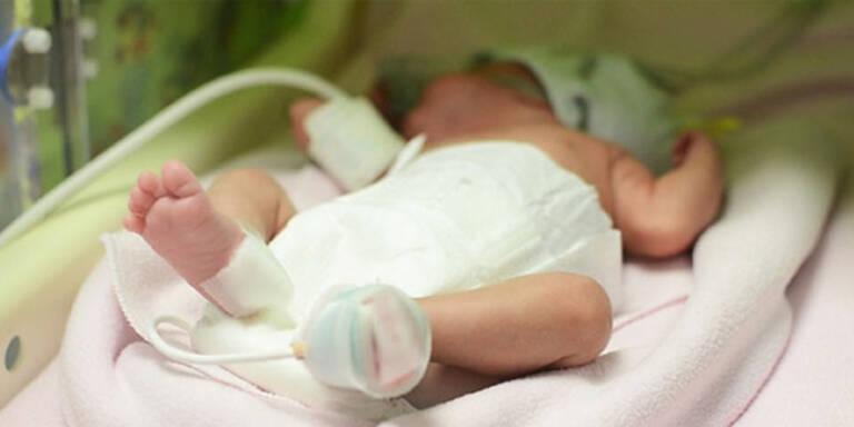 Baby 3 Monate nach Tod der Mutter geboren