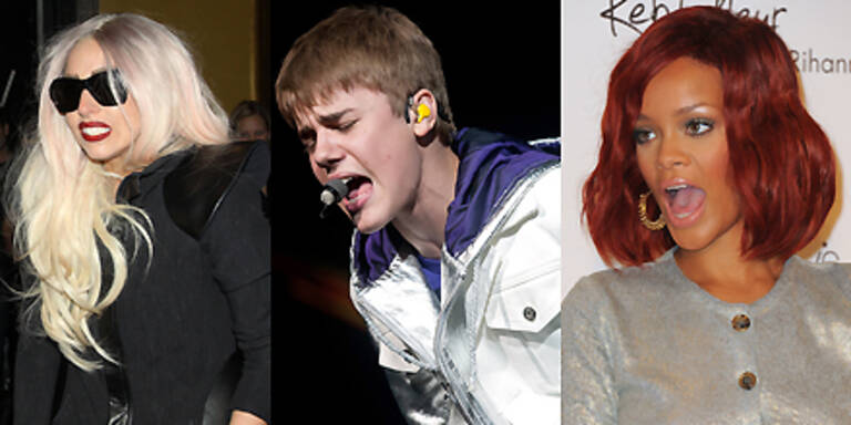 Spenden-Album mit U2, Gaga, Bieber & Co.