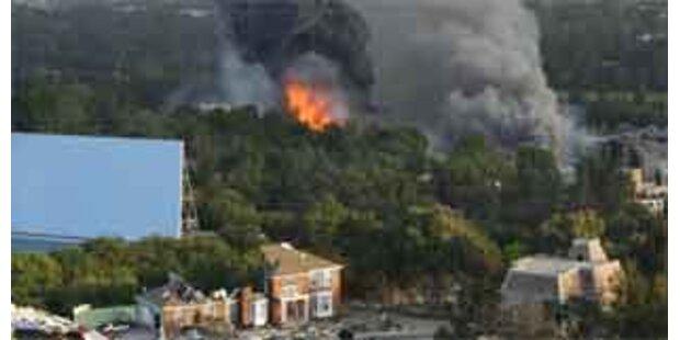 Handwerker verursachten Brand in Hollywood-Studios