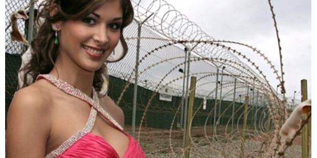 Miss Universum findet Guantanamo lustig