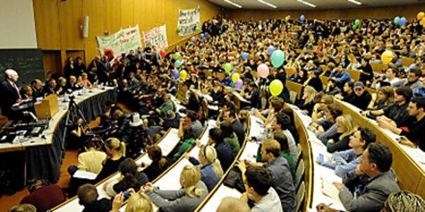 Unigipfel: Regierung trifft Rektoren und ÖH
