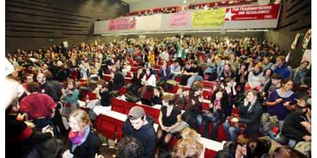 Über 1.000 bei Audimax-Besetzung