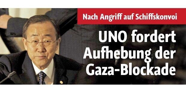 UNO verlangt Aufhebung der Gaza-Blockade