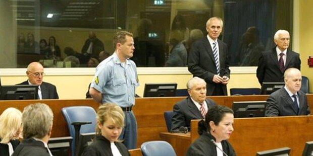 UNO-Tribunal: Bosnische Kroaten verurteilt