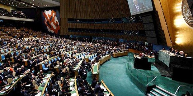 UNO stimmt Palästinas Antrag zu