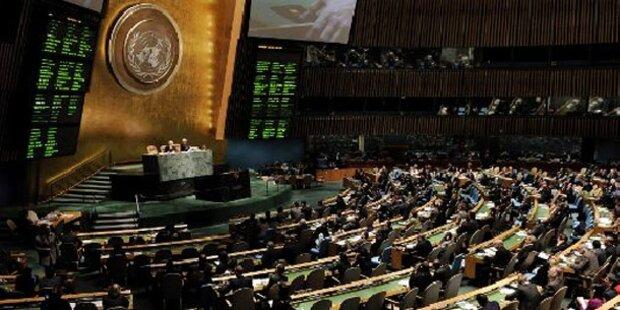 UNO-Vollversammlung verurteilt Syrien