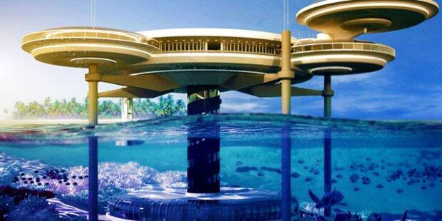 Unterwasser-Hotel auf den Malediven