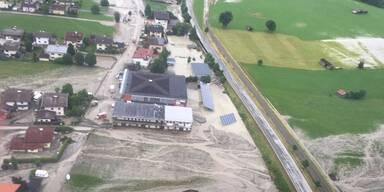 60 bis 70 Häuser betroffen