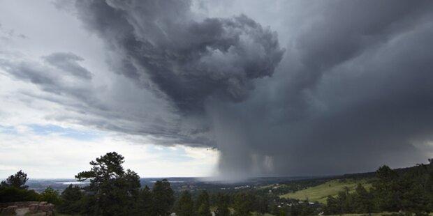Es herrscht extreme Unwettergefahr!