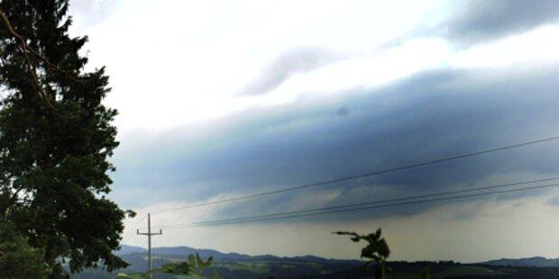 Unwetter-Warnungen im Westen