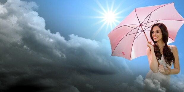 Heute herrscht Unwettergefahr