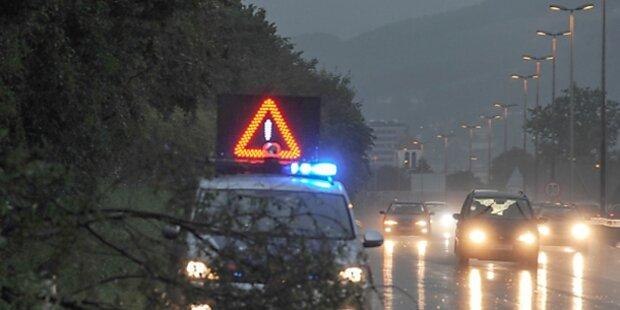 Erneut Unwetter in Österreich