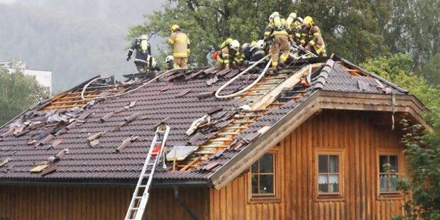 Schwere Unwetter in ganz Österreich