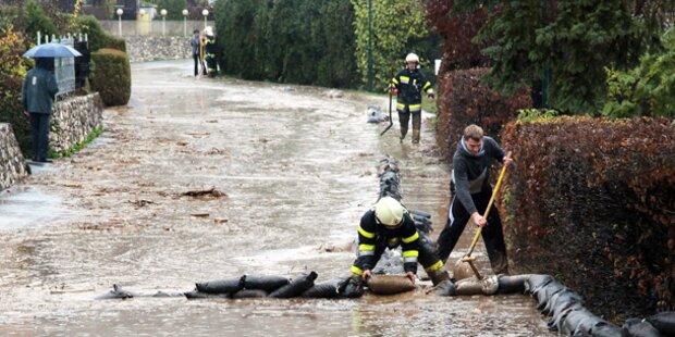 Unwetter-Alarm: Überflutungen drohen