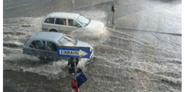 Heuer schlimmste Unwetter seit 40 Jahren