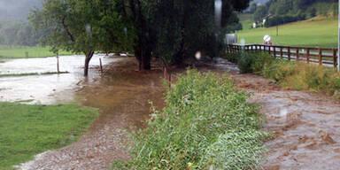 Wieder schwere Gewitter in Österreich