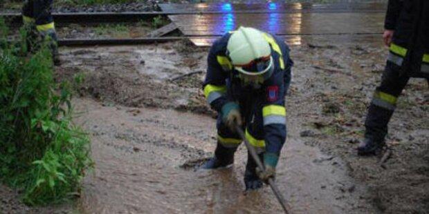Überschwemmungen im Wein- und Waldviertel