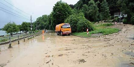 Schwere Unwetter in Salzburg