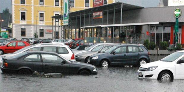 Erneut heftige Unwetter im ganzen Land