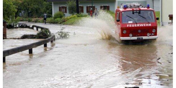 Muren und Überflutungen in Kärnten