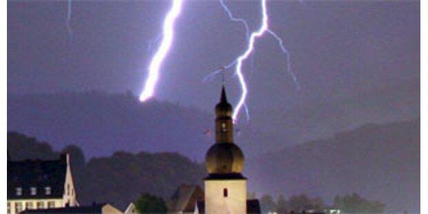 Starke Unwetter wüteten in Tirol