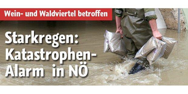 Katastrophenalarm in Niederösterreich