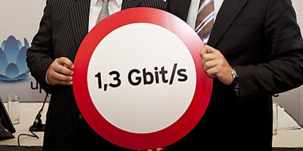 UPC bringt Internet mit 1,3 GBit/s