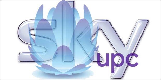 Sky gibt es ab 3. Oktober im UPC-Netz