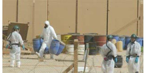550 Tonnen Uran heimlich aus dem Irak gebracht