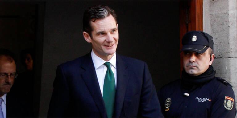 Spanien: Schwiegersohn des Königs verhört