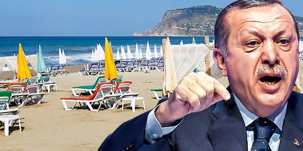 Mehrheit der Deutschen will nicht mehr in die Türkei reisen